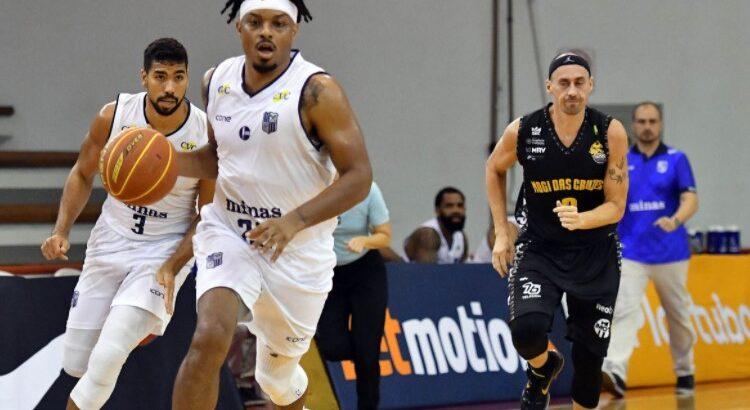 Shaq Johnson, do Minas, foi o cestinha da partida, com 18 pontos (Foto: João Pires/LNB)