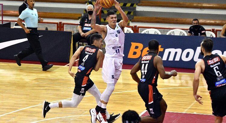 Gui Santos foi o grande destaque do Minas no jogo, com 22 pontos marcados (Foto: João Pires/LNB)