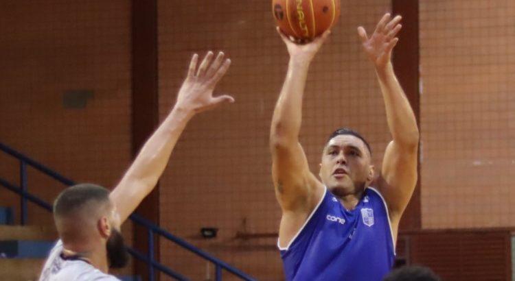 JP Batista marcou 14 dos 81 pontos do Minas na vitória sobre o Bauru (Foto: Gabriel Costa/Cerrado)