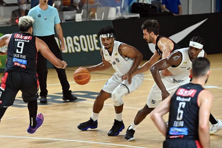 Minas venceu o Franca nos dois duelos entre as equipes nesta temporada (Foto: João Pires/LNB)