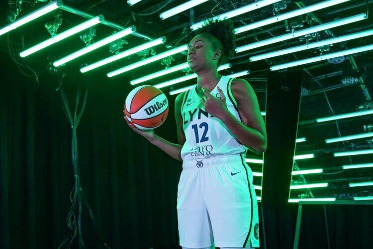 Damiris Dantas representa o Brasil na WNBA atualmente (Foto: Divulgação/Minnesota Lynx)