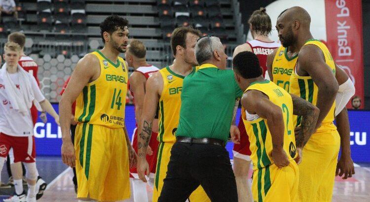Brasil fez dois amistosos contra a Polônia como preparação para o Pré-Olímpico e venceu ambos (Foto: Thierry Gozzer/CBB)