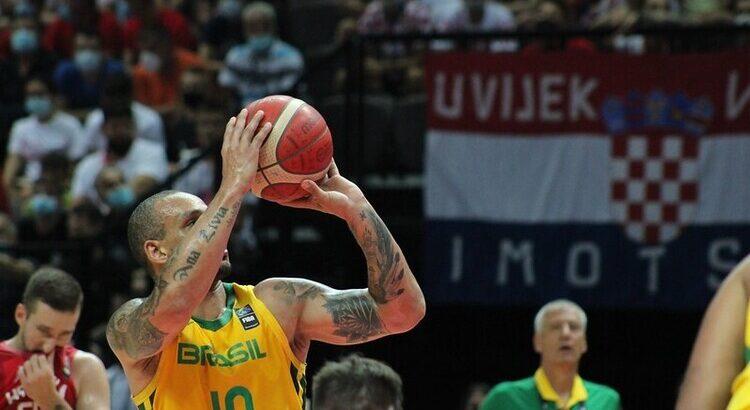 Brasil venceu os dois jogos da fase de grupos do Pré-Olímpico (Foto: Thierry Gozzer/Confederação Brasileira de Basketball)