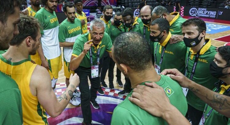 Brasil ganhou todos os jogos do Pré-Olímpico até chegar à final (Foto: Divulgação/Fiba)