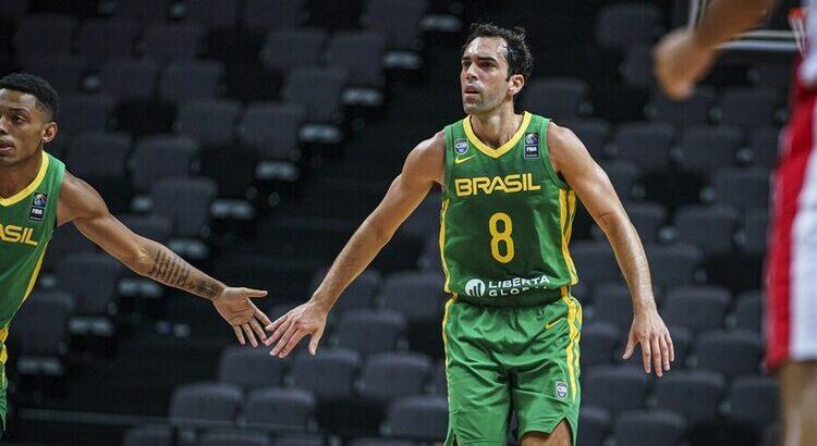 Yago e Benite se destacaram na vitória brasileira sobre a Tunísia (Foto: Divulgação/Fiba)
