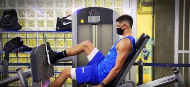 De olho na NBA, Gui Santos pode disputar sua última temporada como minas-tenista (Foto: Divulgação/Minas)
