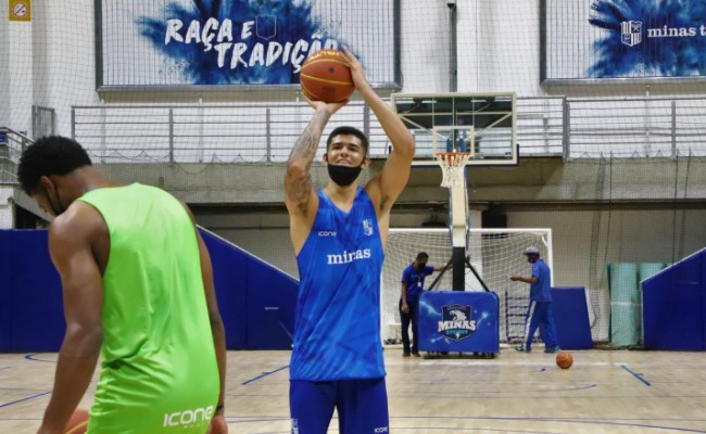 Minas, de Gui Santos, foi a única equipe a confirmar participação na edição do Mineiro deste ano (Foto: Júlia Savassi/Minas)